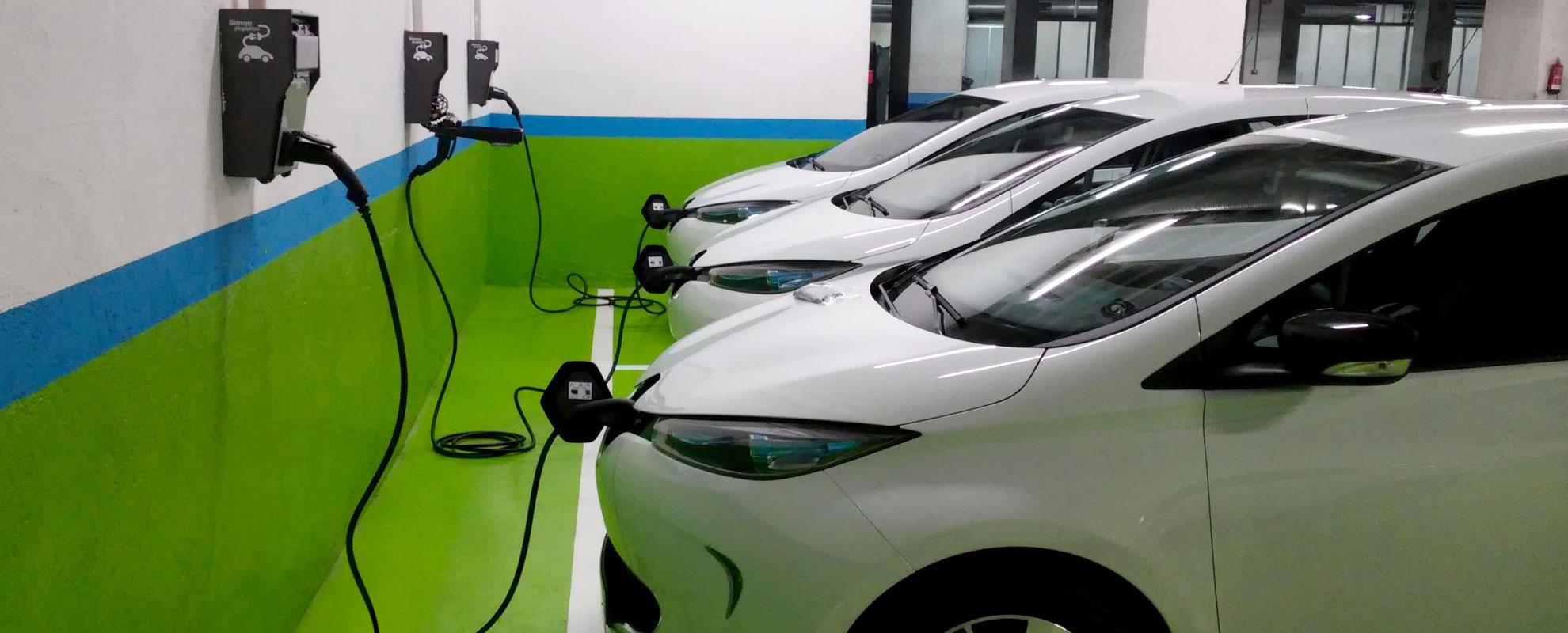 Instalación de puntos de recarga para vehículos eléctricos enchufables en Madrid